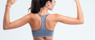 Как похудеть в области плеч и спины?