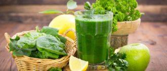 Зеленые коктейли — подарок лета