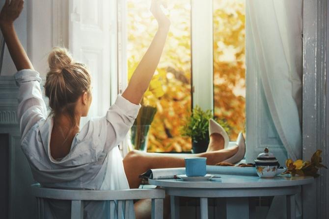 Каким должно быть утро счастливой женщины?