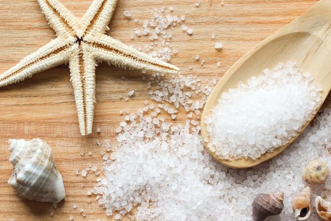 Морская соль и женская красота